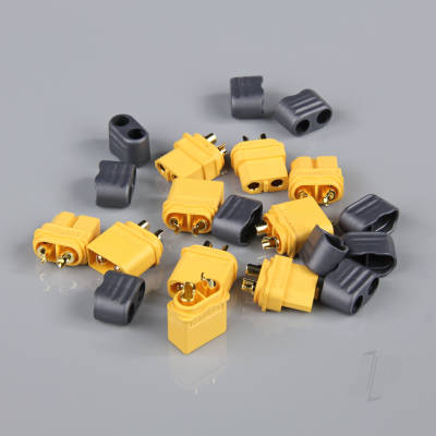 XT60 Pairs with Cap End (5 pcs)