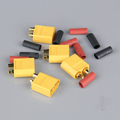 XT60 Male (ESC End) (5pcs)