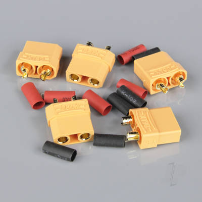 XT90 Female including Heat Shrink (Battery End) (5pcs)