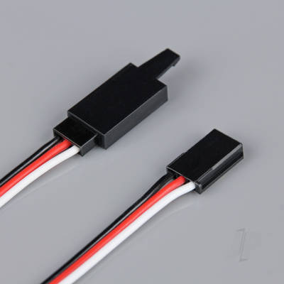 Futaba HD Extension Lead with Clip 200mm