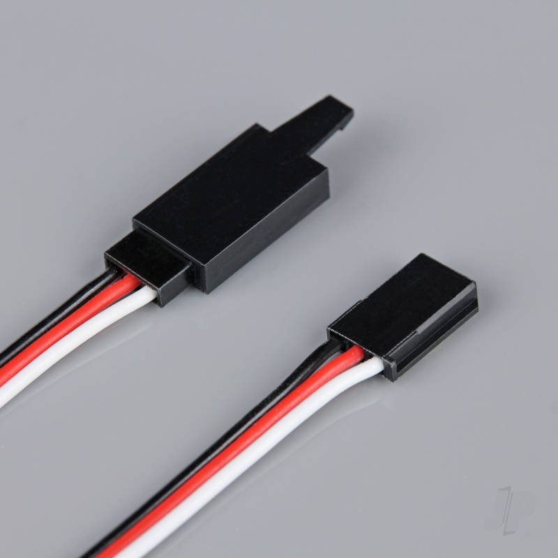 Futaba HD Extension Lead with Clip 300mm