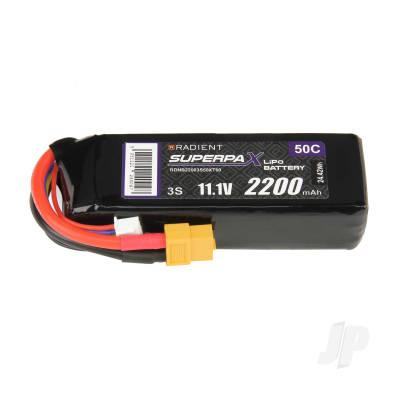 LiPo 3S 2200mAh 11.1V 50C XT60