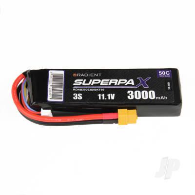 LiPo 3S 3000mAh 11.1V 50C XT60