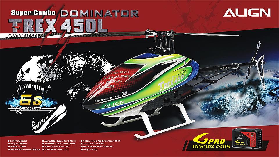 T-Rex 450L Dominator Super Combo