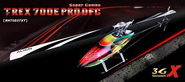 T-Rex 700E Pro DFC Super Combo