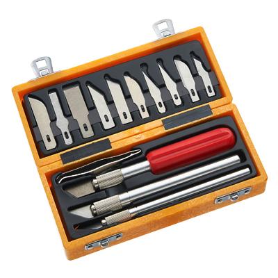 14pc Knife Set in case