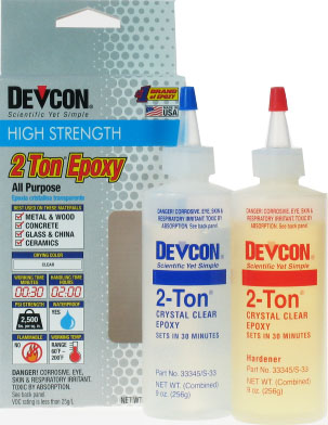 Devcon 2 Ton Epoxy (256g Bottle)