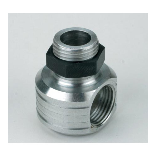Saito Muffler Right Angle Adaptor