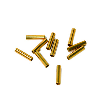 REPLACEMENT CRIMPS 10 (GOLD)