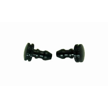 FUEL LINE PLUGS (BLACK) 2