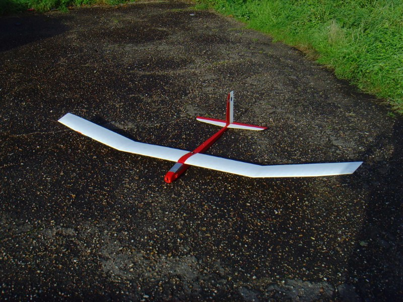 photo of: Home Built 2 Metre Electric Glider