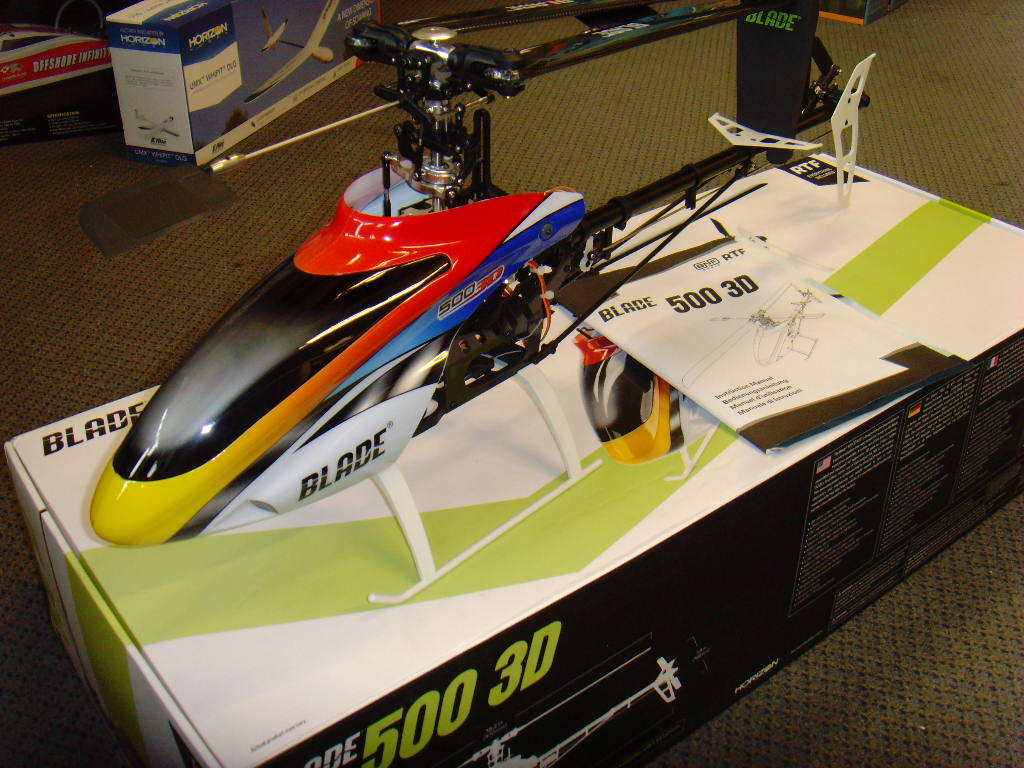 photo of: Second Hand Blade 500 3D BNF