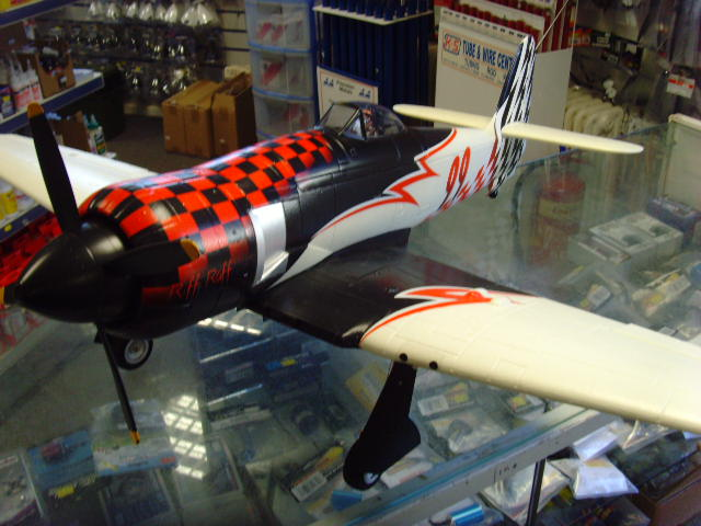 Avios Riff Raff 99 Sea Fury Racer EPO 1200mm (BNF)