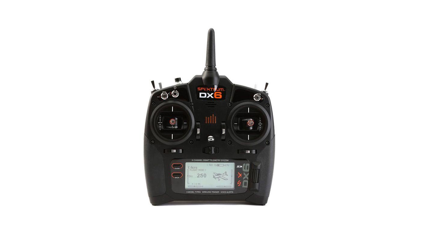 Spektrum DX6 G3 6 Channel DSMX (Multimode) + AR6600T