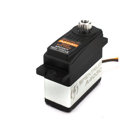SPEKTRUM A4030 MICRO HV DIGITAL HI-TORQUE METAL GEAR SERVO
