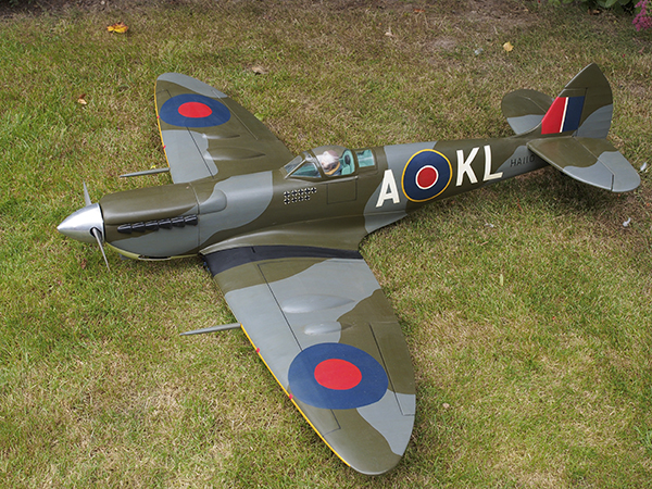 photo of: Second Hand Unflown Topflite Spitfire MkIX