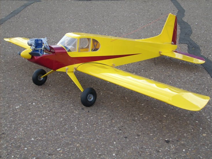Low wing Super 60 kit