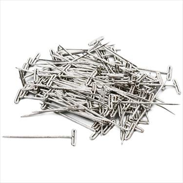 Steel T-pins 1-1/4 31mm (100)