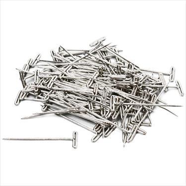 Steel T-pins 1-1/4 31mm (100)