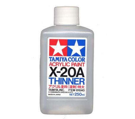 Tamiya X-20A Acrylic Thinner 250ml