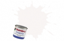 Humbrol No.1 Tinlets White (22) - 14ml Gloss Enamel