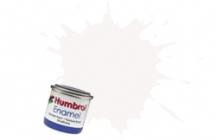 Humbrol No.1 Tinlets White (22) - 14ml Gloss Enamel