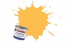 Humbrol No.1 Tinlets Trainer Yellow (24) - 14ml Matt Enamel Tinlet