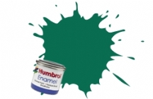 Humbrol No.1 Tinlets Dark Green (30) - 14ml Matt Enamel