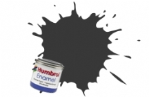 Humbrol No.1 Tinlets Black (33) - 14ml Matt Enamel