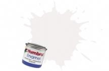 Humbrol No.1 Tinlets White (34) - 14ml Matt Enamel