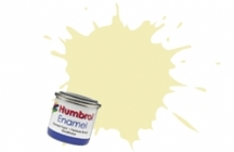Humbrol No.1 Tinlets Ivory (41) - 14ml Gloss Enamel Tinlet