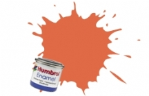 Humbrol No.1 Tinlets Orange Lining (82) - 14ml Matt Enamel Tinlet
