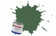 Humbrol No.1 Tinlets Light Green (117) - 14ml Matt Enamel Tinlet