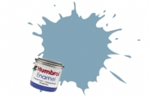 Humbrol No.1 Tinlets US Compass Grey (128) - 14ml Satin Enamel Tinlet