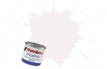 Humbrol No.1 Tinlets White (130) - 14ml Satin Enamel Tinlet