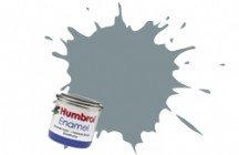 Humbrol No.1 Tinlets Gull Grey (140) - 14ml Matt Enamel Tinlet