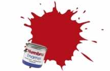 Humbrol No.1 Tinlets Insignia Red (153) - 14ml Matt Enamel Tinlet