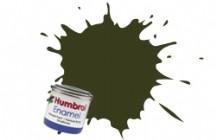 Humbrol No.1 Tinlets Dark Green (163) - 14ml Satin Enamel Tinlet