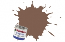 Humbrol No.1 Tinlets Brown (186) - 14ml Matt Enamel Tinlet