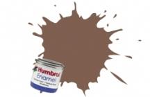 Humbrol No.1 Tinlets Brown (186) - 14ml Matt Enamel Tinlet