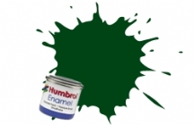 Humbrol No.1 Tinlets Dark Green (195) - 14ml Satin Enamel Tinlet