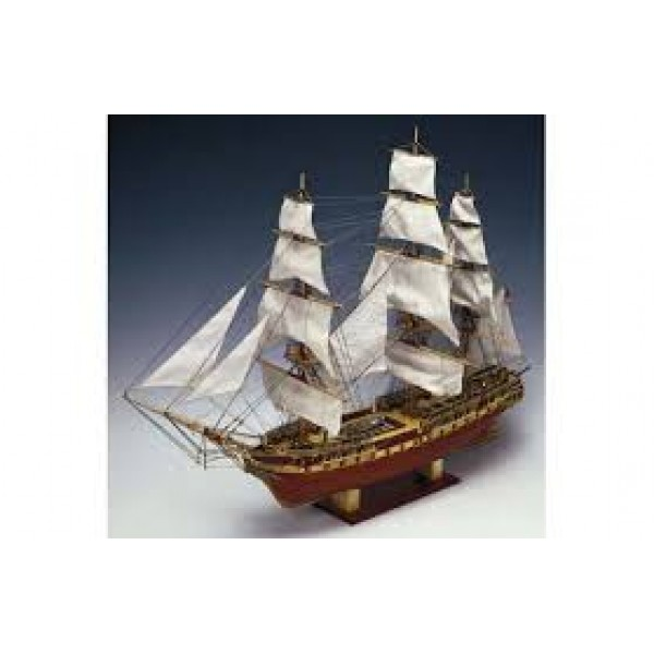 USS Constitution Wooden Boat Kit