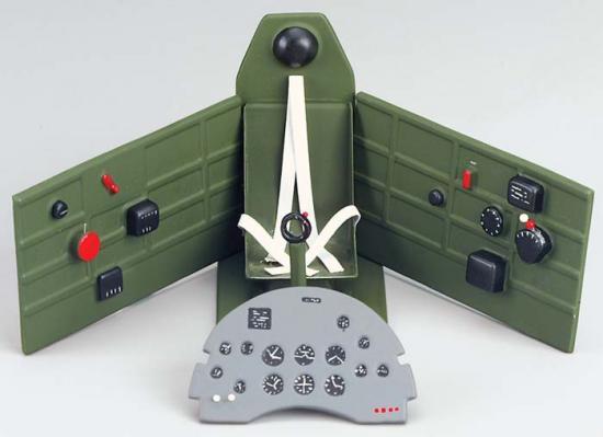 Top Flite Cockpit Kit 1/7 Spitfire MkIX