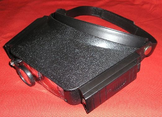 Head Loupe with Lights (110g)