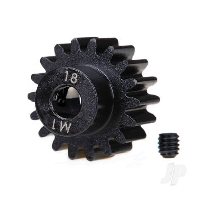 18-T Pinion Gear (1.0 metric pitch) Set (fits 5mm shaft)