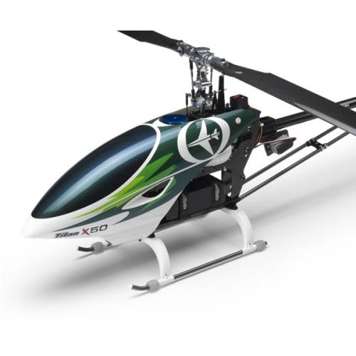 Titan X50E Electric Torque-tube  Flybarless Version Kit Only