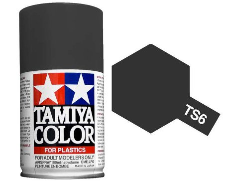 Tamiya TS-6 Matt Black Spray Paint