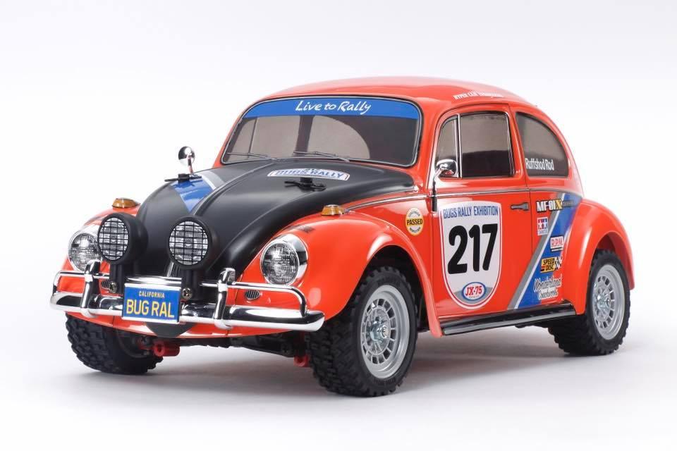 Tamiya Volkswagen Beetle Rally MF-01X Inc Tamiya ESC