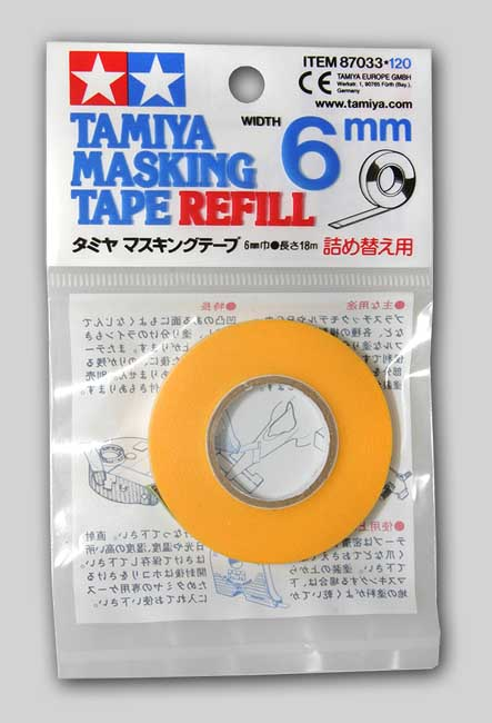 Tamiya Masking Tape Refill (6mm)