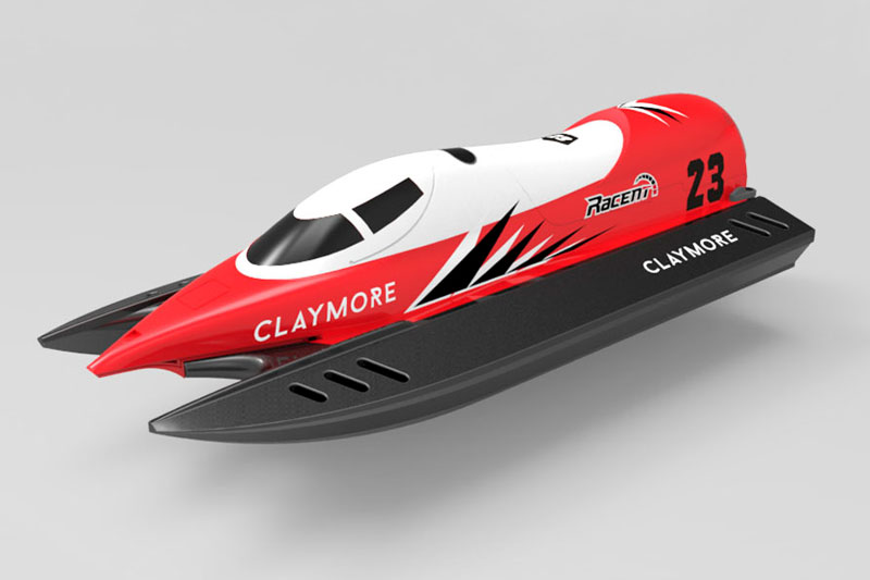 VOLANTEX CLAYMORE RTR MINI RACING BOAT- RED/BLACK